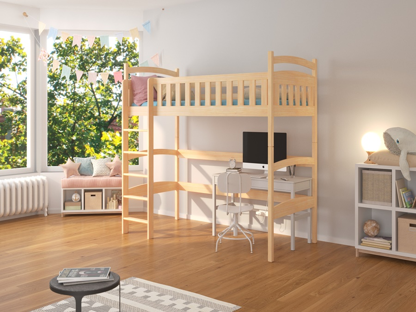 Dětská vyvýšená postel Alfie 80x180 cm