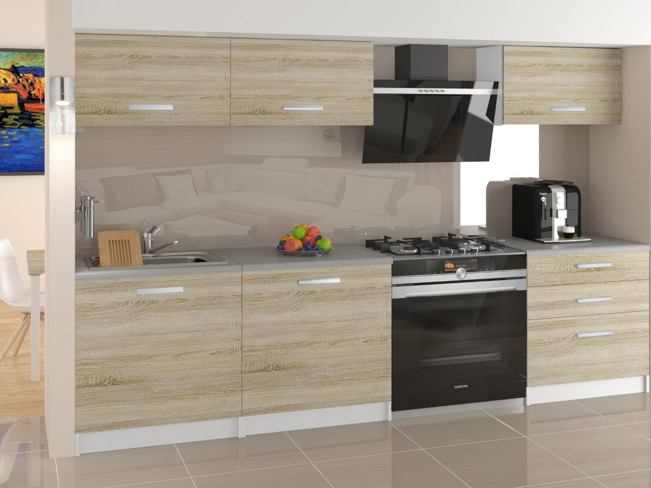Kuchyňa dub sonoma Vegas 180 cm