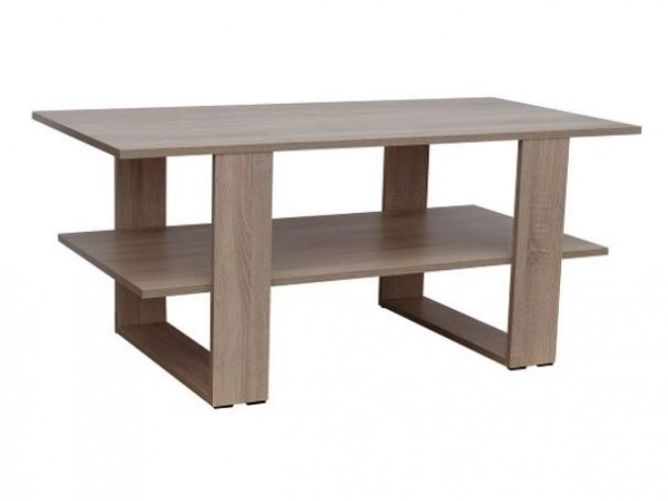 Designový konferenční stolek s odkládací plochou 120 cm  -  volitelný dekor