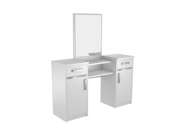Toaletní stolek se zrcadlem Lushe