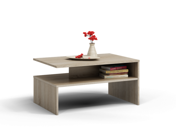 Konferenční stolek obdélník  Arsen - dub sonoma