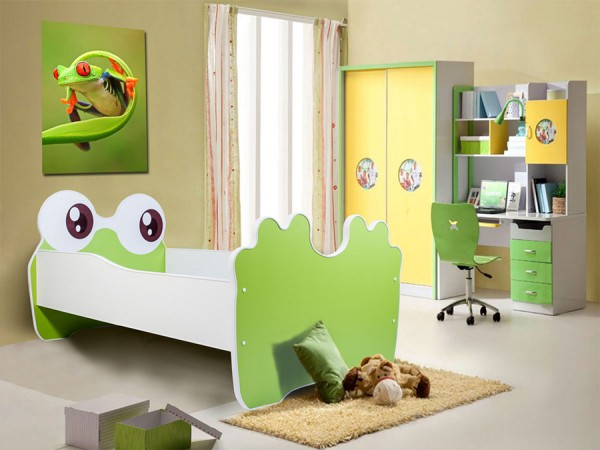 Dětská postel 160x80 cm Žabka