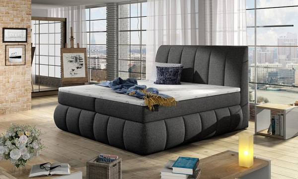 Čalouněná boxspring postel Marry 160 x 200
