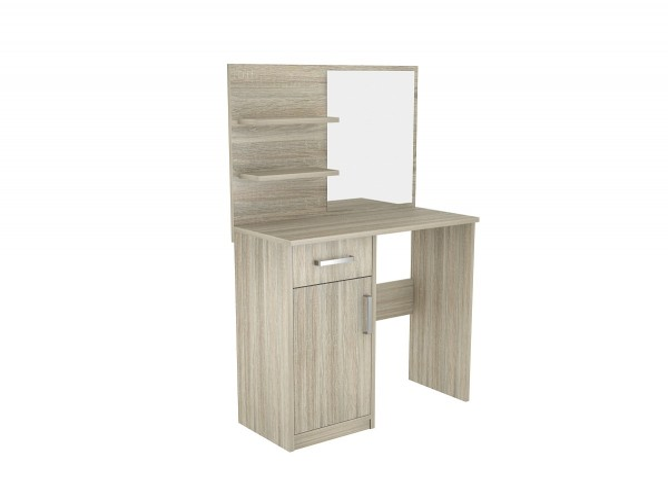 Kosmetický stolek Natey dub sonoma