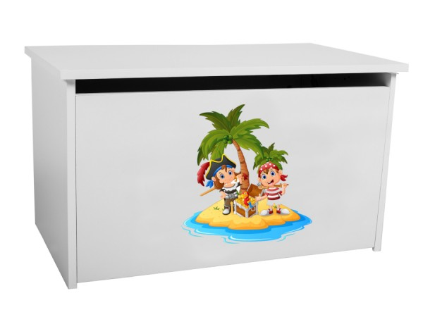 Dětský úložný box Toybee s piráty