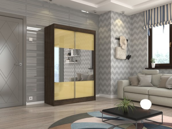 Skříň s posuvnými dveřmi 150 cm Carlow