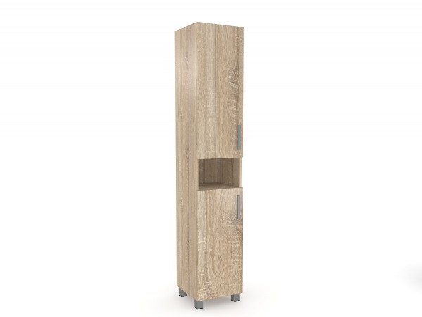 Vysoká kúpeľňová skrinka Shika ľavostranná