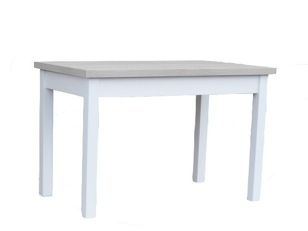 Jídelní stůl rozkládací bílo-šedý Heano