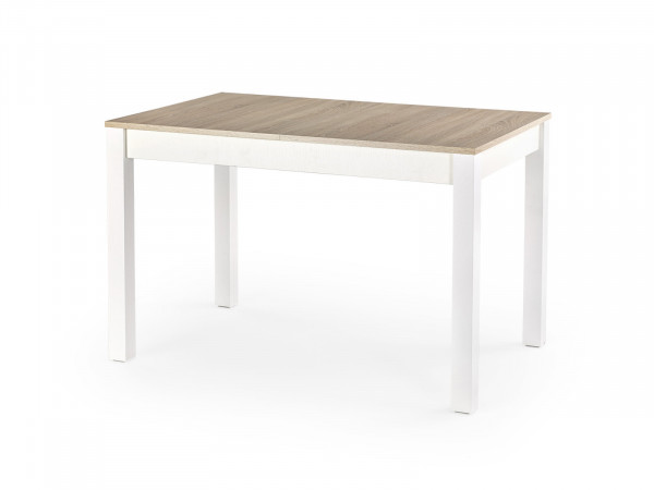 Rozkládací stůl Sirene dub sonoma/bílá