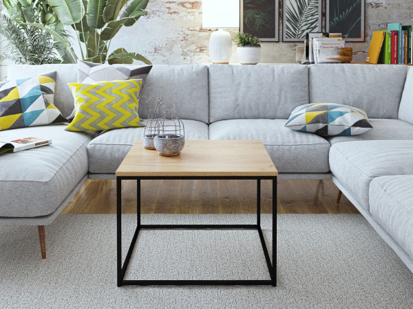 Kávový stolek Hako dub craft