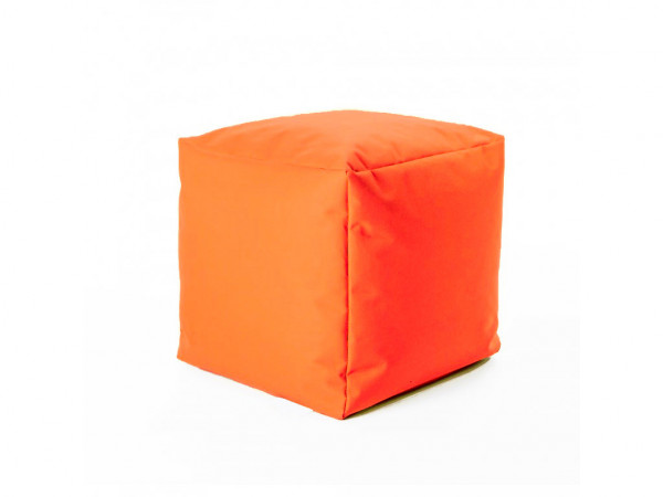 Dětský sedací vak Enis oranžový 40 x 40 cm