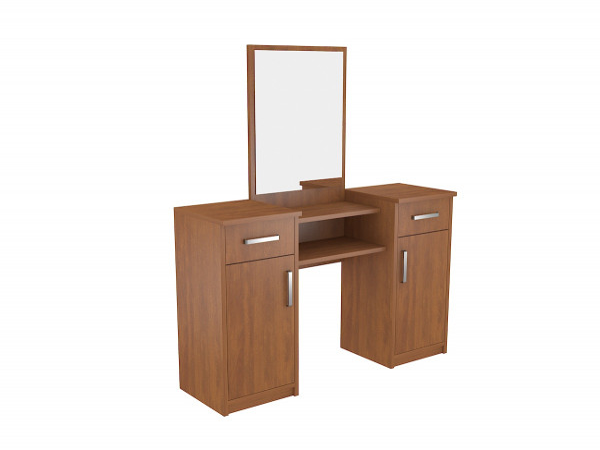 Toaletní stolek se zrcadlem Lushe Calvados